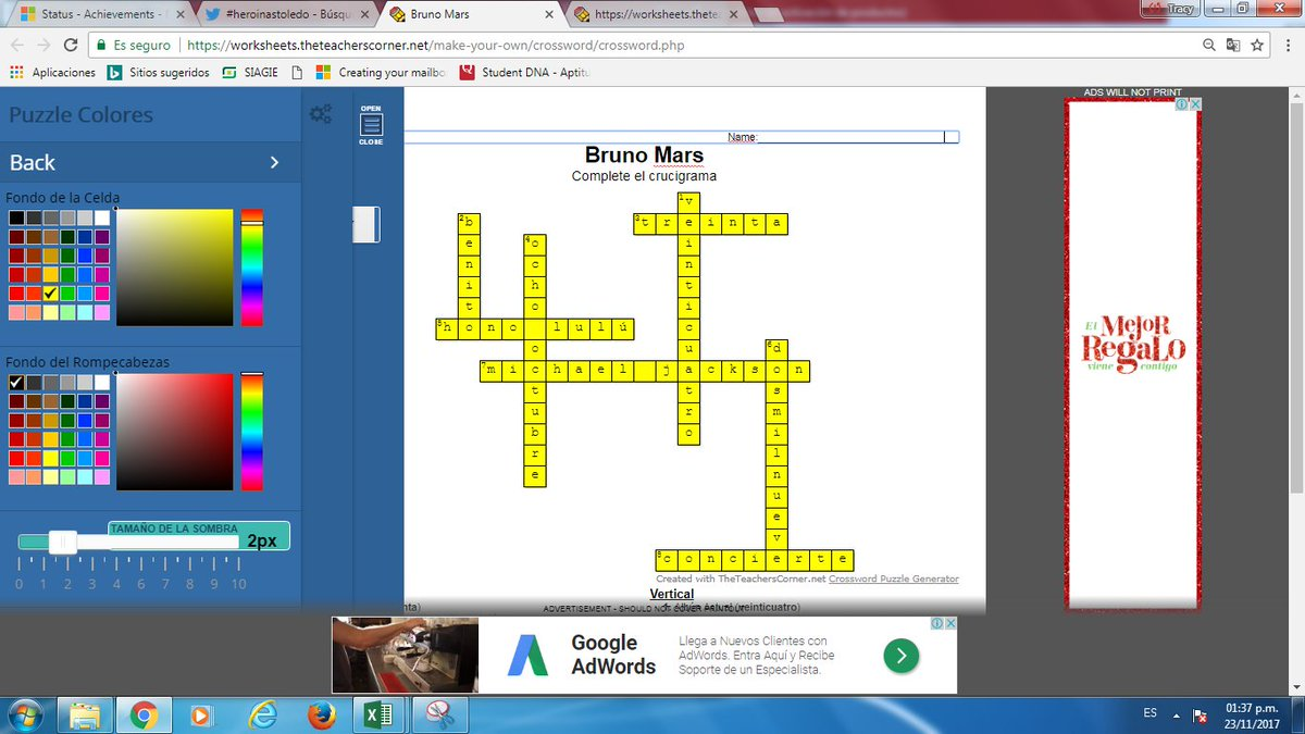 FREE Word Match Up Game, Crossword Options http://worksheets ...