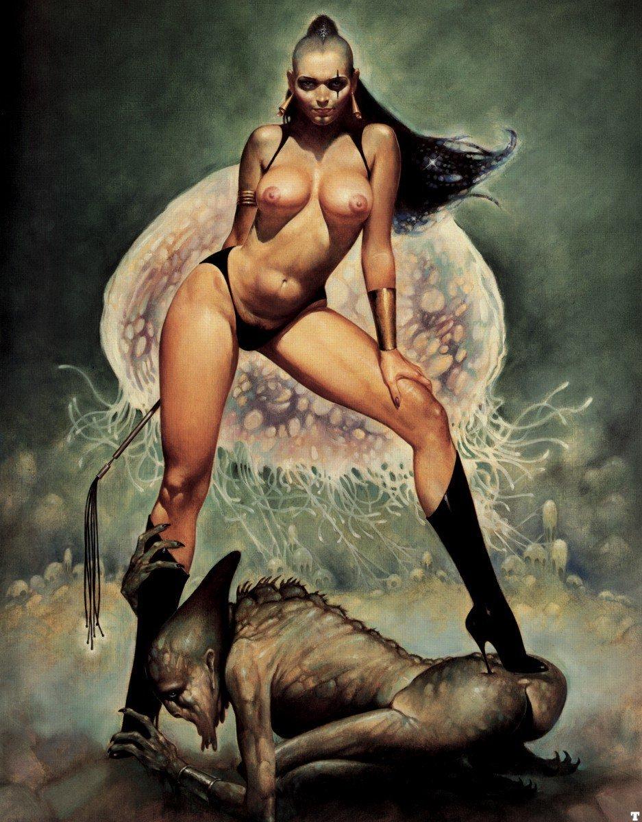 Sexy Fantasy Artwork By Luis Royo Nerd Porn