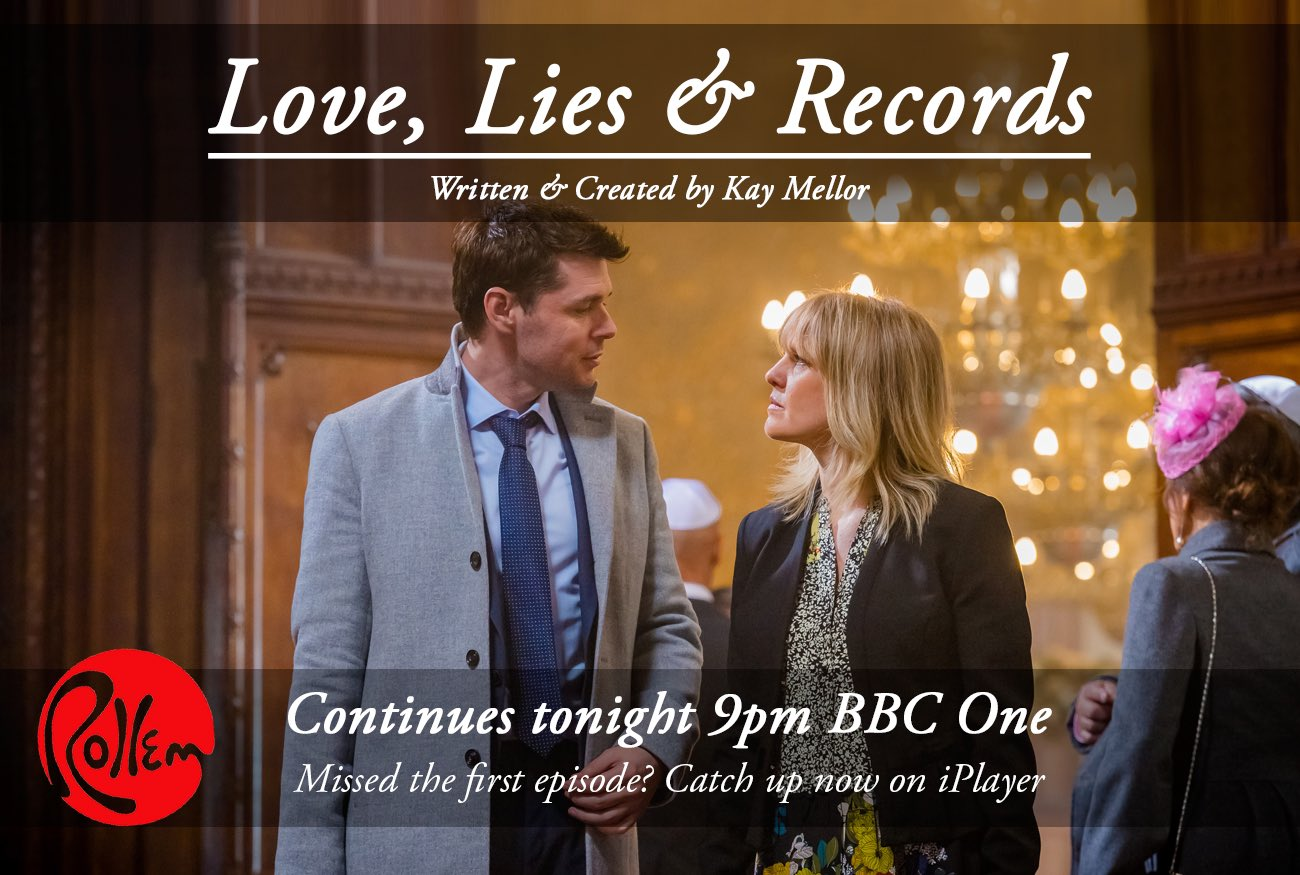 RT @flintoff11: Just a reminder Kay Mellors , Love Lies and Records continues tonight at 9pm on @BBCOne , please RT https://t.co/F94695QN1R