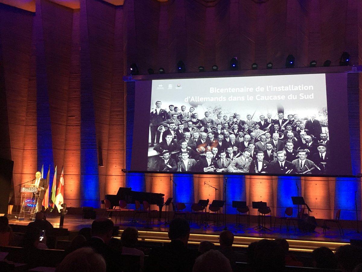 #concert exceptionnel consacré au bicentenaire de l'installation des colonies #allemandes ds le #CaucaseduSud organisé par Ministère de la Culture   @AzDelUnesco @AllemagneDiplo @AmbGeorgie @UNESCO_fr #Azerbaijan #Georgie #Allemagne #Unesco pic.twitter.com/sfeN2hdAp7