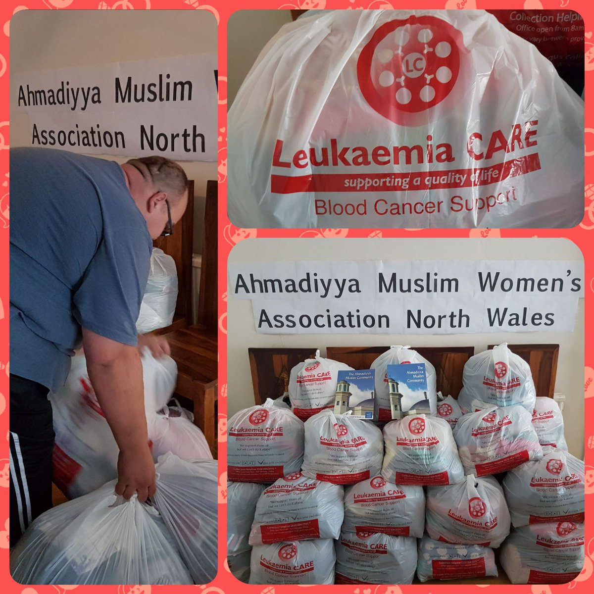#Ahmadi #Muslim  Ladies North #Wales donated 21 bags of clothing to support @LeukaemiaCareUK<br>http://pic.twitter.com/MujZyP4NVS