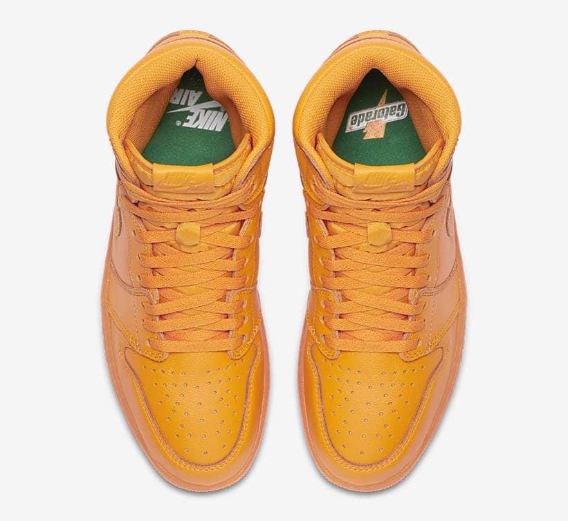 646eace18d8555 All-orange air jordan 1s for the upcoming