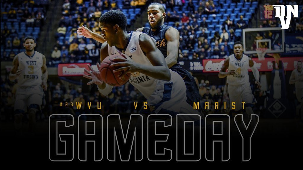 It&#39;s Gameday! #WVU hoops are back in action tonight in the Advocare Invitational vs Marist <br>http://pic.twitter.com/TSzDpt3qKY