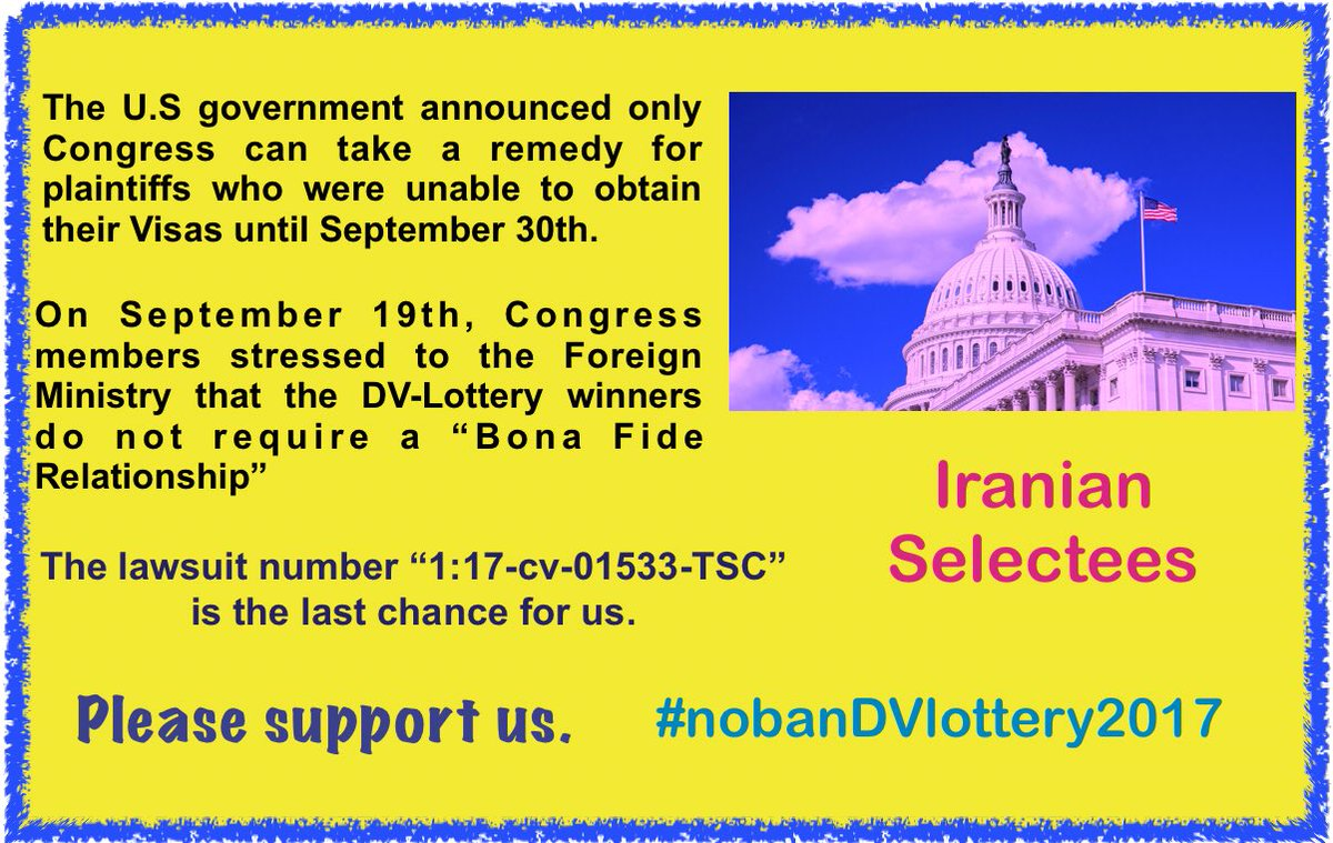 The court is our last chance to be American 󾓦󾓦󾓦󾓦 #NoBanDvLottery2017 @OmarJadwat @JB_Cox @WangCecillia @SenWarren @RepBarbaraLee @tedlieu @RepYvetteClarke @SenSanders @timkaine @NancyPelosi @ShallTakeCare @RepMaxineWaters @CNN @MSNBC @nbc #CNN #MSNBC #NBC #USA #American<br>http://pic.twitter.com/q72Q4Z6AWT