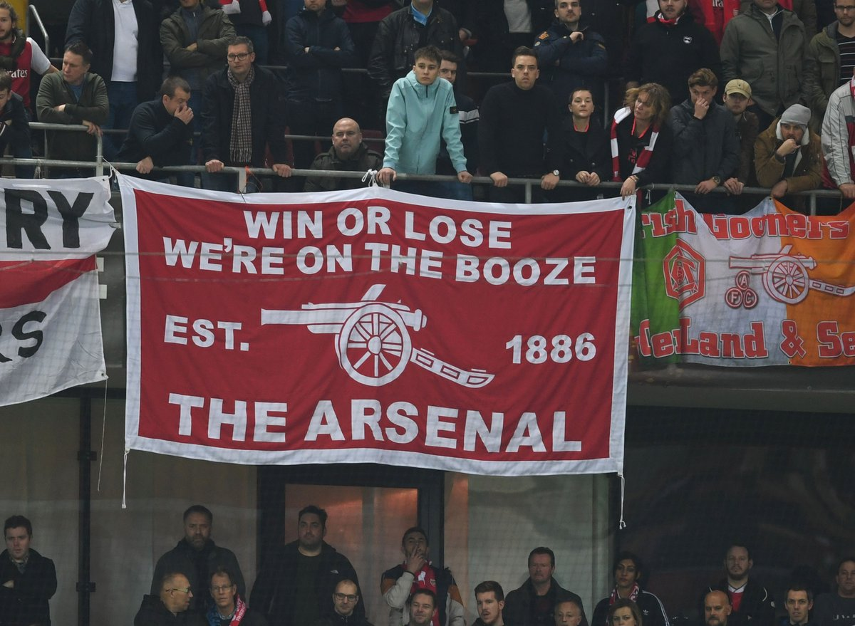 Image result for win or lose we booze arsenal