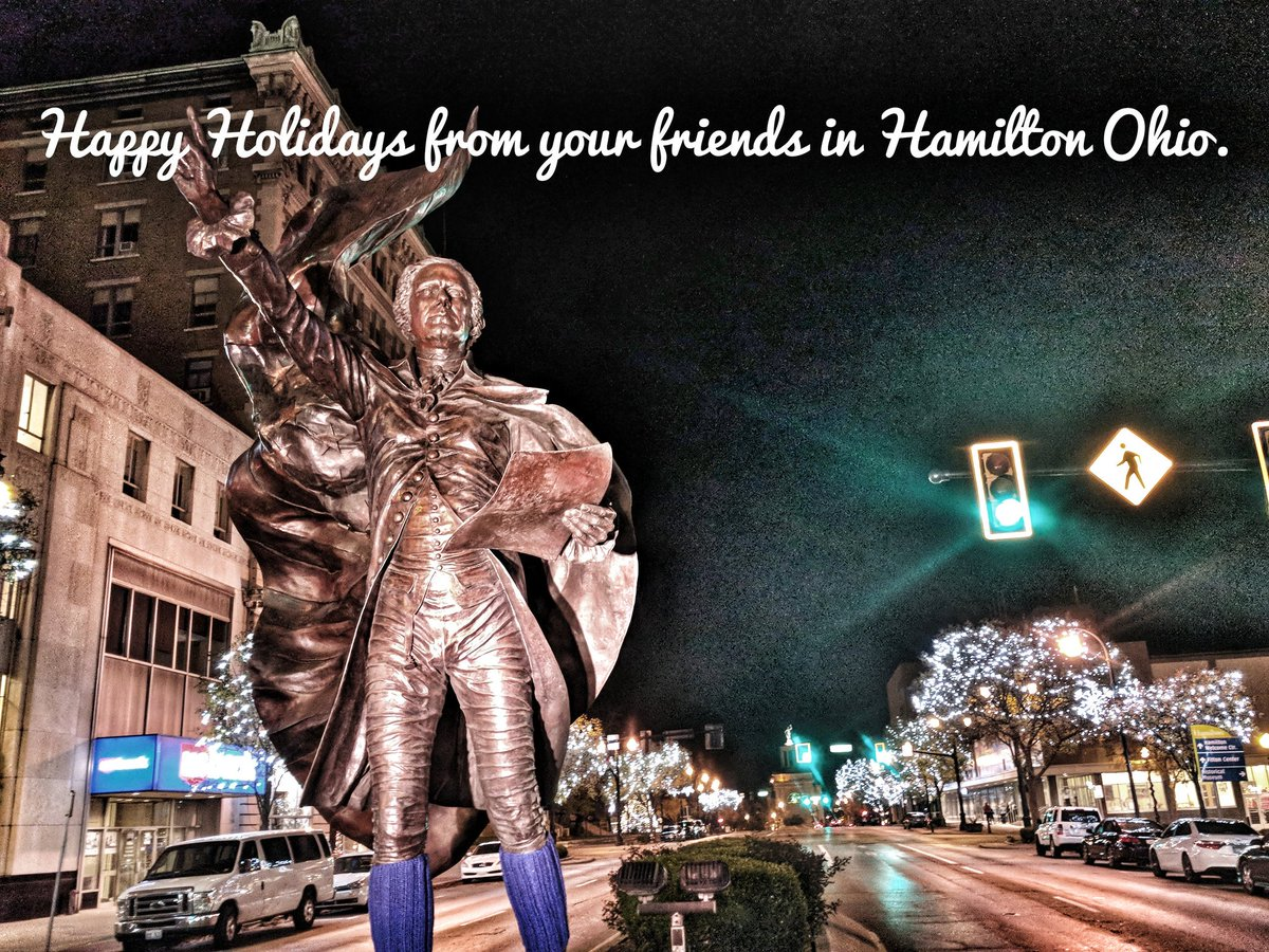 Happy Holidays from your friends in #Hamilton #Ohio. #Columbus #Cleveland #Canton #Toledo<br>http://pic.twitter.com/sFPNXMfnPH