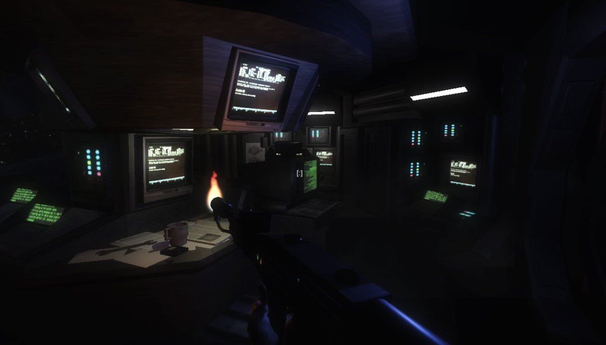 Think you could make it off the Nostromo? #alien #game #nostromo #indiedev #indie #unity3d<br>http://pic.twitter.com/mp6ZnBSa3D