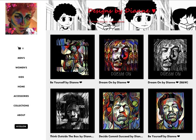 You are the creators of your own destiny. Discover my latest collection :  https:// diannemeinke.threadless.com/home/fine-art- print &nbsp; …  #Art #prints #musicians<br>http://pic.twitter.com/TCZVjAzSWL