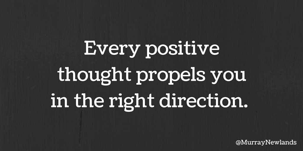 Every positive thought propels you in the right direction.   #ThursdayThoughts #Inspiration #Motivation <br>http://pic.twitter.com/7ZVTtoPxkW