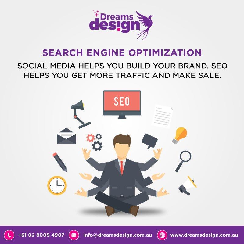 Social media helps you build your brand, SEO helps you get more traffic and make sale. #socialmedia #SEO #ROI #PPC #FridayFeeling #DigitalMarketing #SearchEngineOptimization<br>http://pic.twitter.com/AyOWMh3myJ