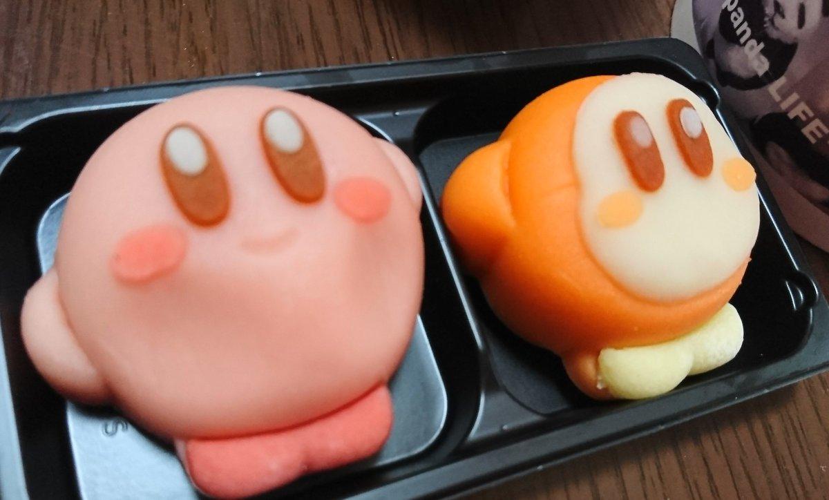 和菓子のカービィwww可愛くてほっぺをプニプニしてたら悲惨な結果にwww