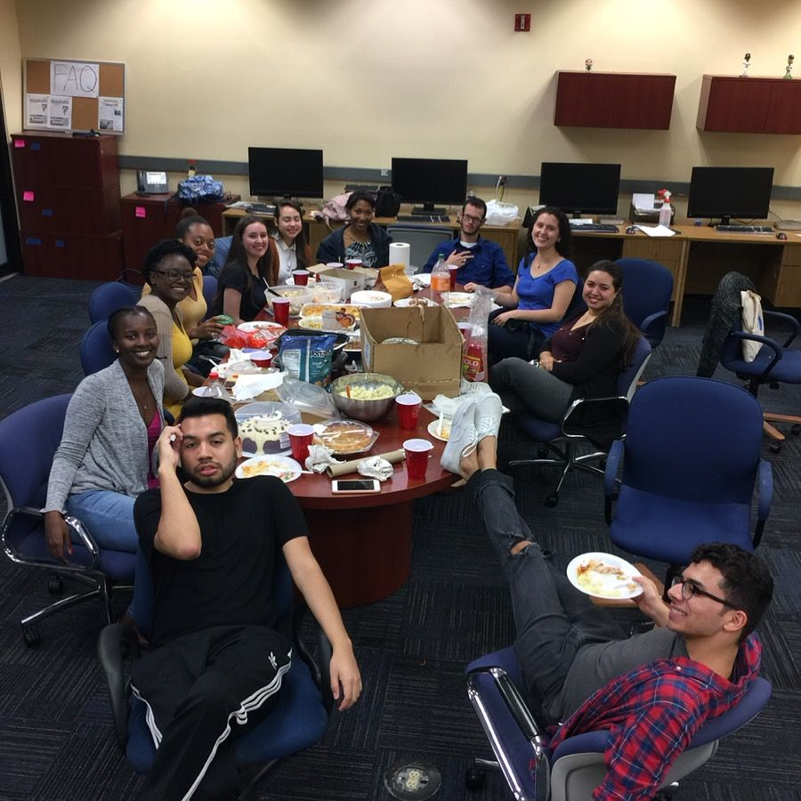 #HappyThanksgiving from our PantherNOW family to yours! #FIU #FIU17 #StudentJournalists<br>http://pic.twitter.com/K24dulfNgl
