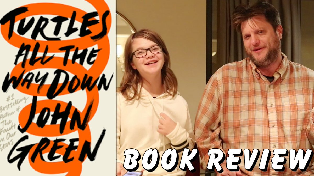 #Turtlesallthewaydown #Book #Review  https:// youtu.be/KFR5tTCNuLw  &nbsp;   Dad and #Presley talk about the new book by @johngreen  #tatwd #DFTBA #Booktube #nerdfighters<br>http://pic.twitter.com/KyW1wnFAZB