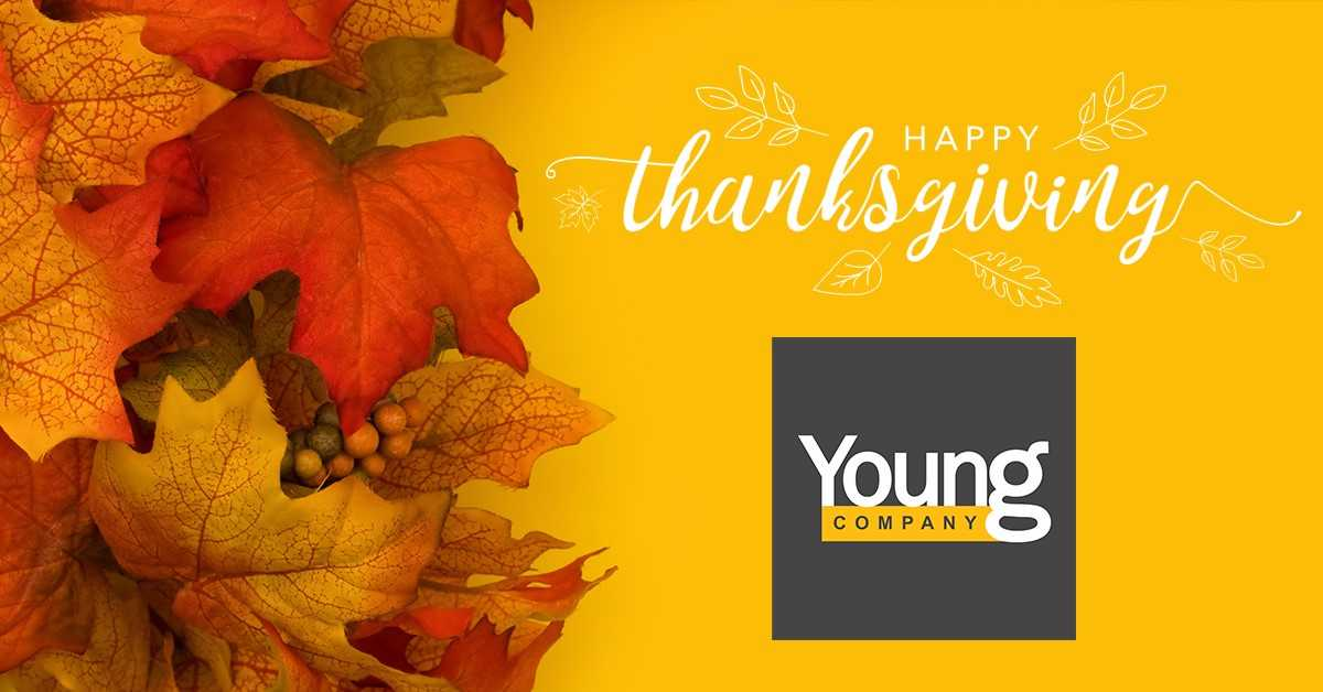 test Twitter Media - From all of us here at Young Company, we wish you and your loved ones a safe and happy Thanksgiving!  🦃🍂🌽 https://t.co/1BWPZZ97Ob
