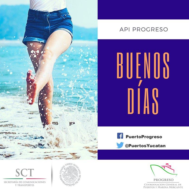 @PuertosYucatan les desea un excelente d...