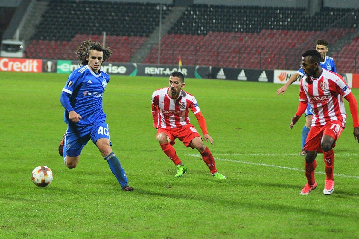 Скендербеу - Динамо 3:2. Видеообзор матча - изображение 1