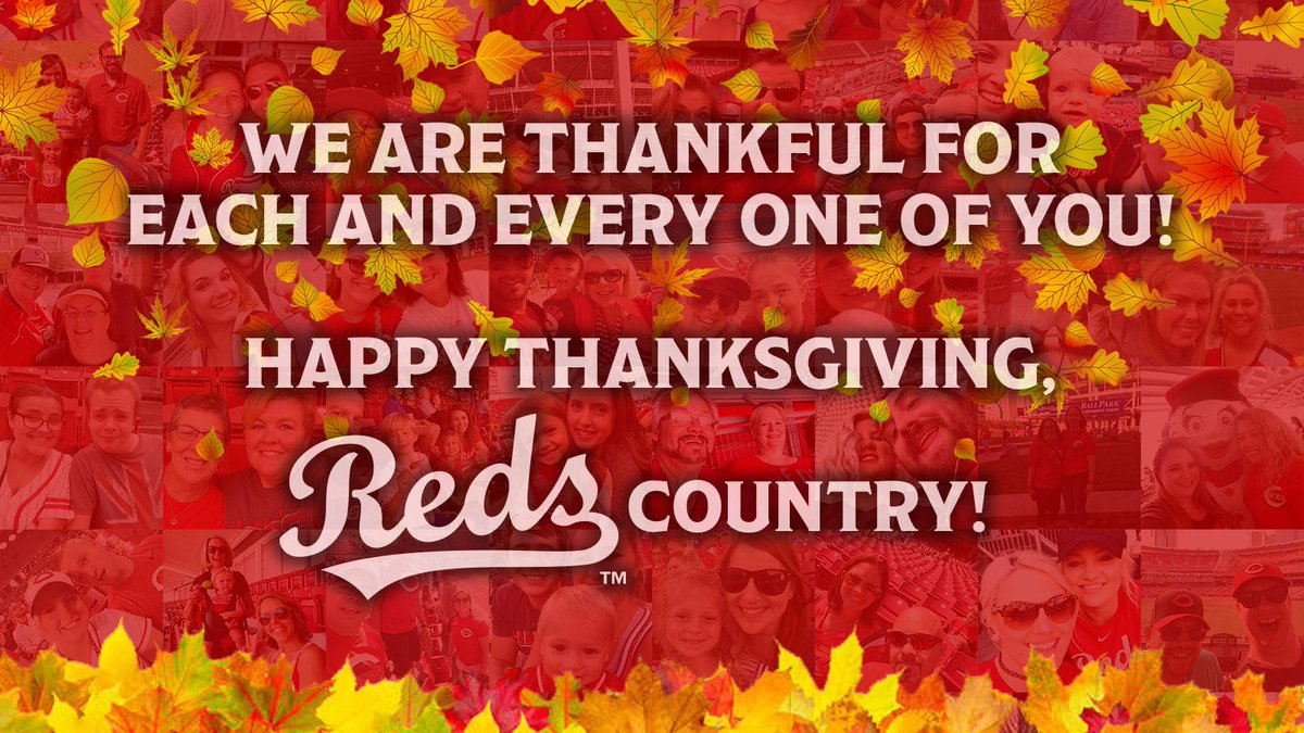 From the Reds family to yours:  #HappyTh...