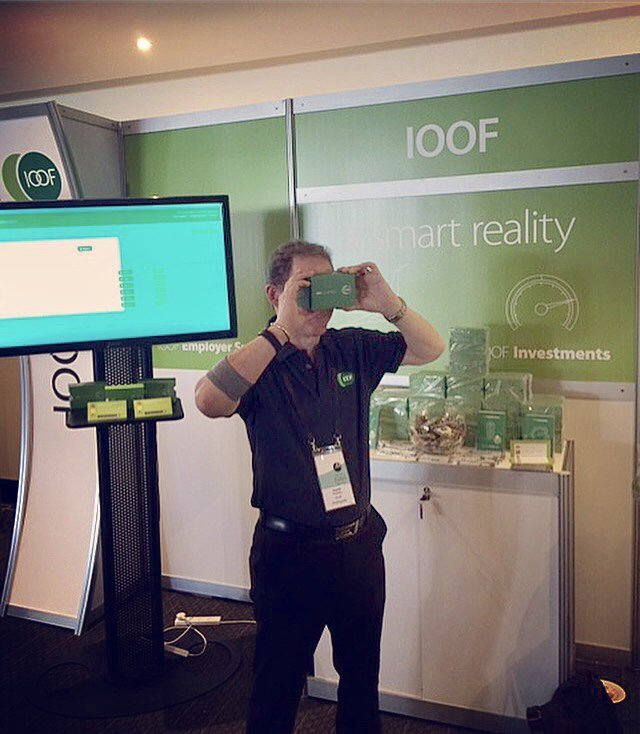 One last chance stop by our stand to enter to win a $300 JB Hi Fi voucher and to grab your VR glasses #IOOFsmartreality #virtualreality #AustraliaFPA<br>http://pic.twitter.com/2daGw1wCw7