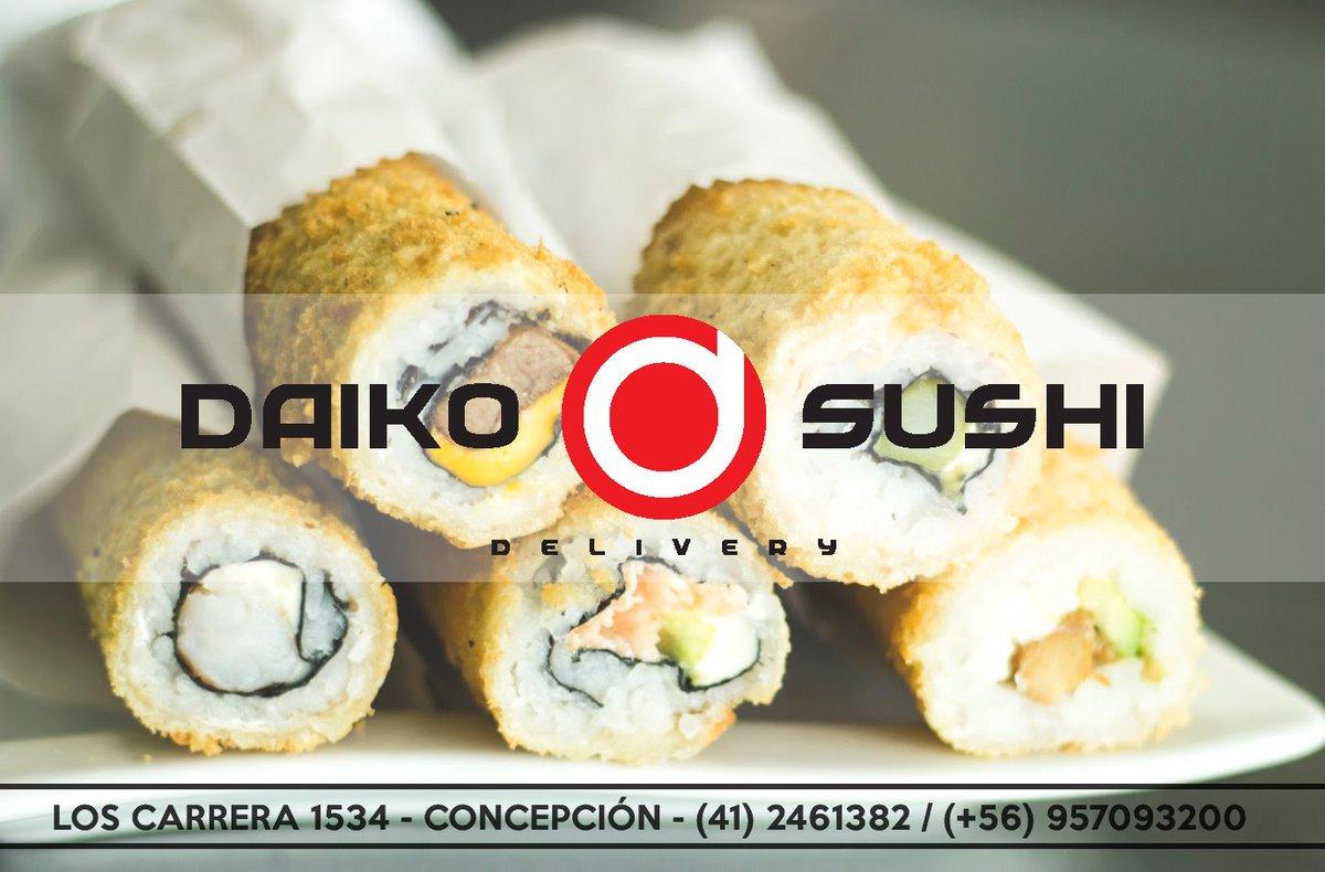 RT @Daiko_Sushi: Pronto, tendremos nuevas sorpresas para ti! #sushi #sushilovers #DaikoSushi #Concepcion https://t.co/2OnmlRpLrx
