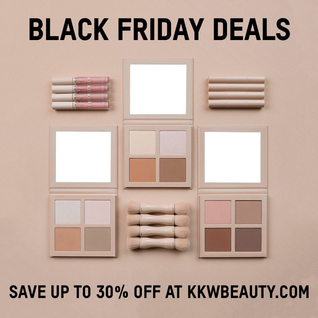 Black Friday starts NOW! Get up to 30% off at https://t.co/PoBZ3bhjs8 @kkwbeauty https://t.co/NtX695Dyki