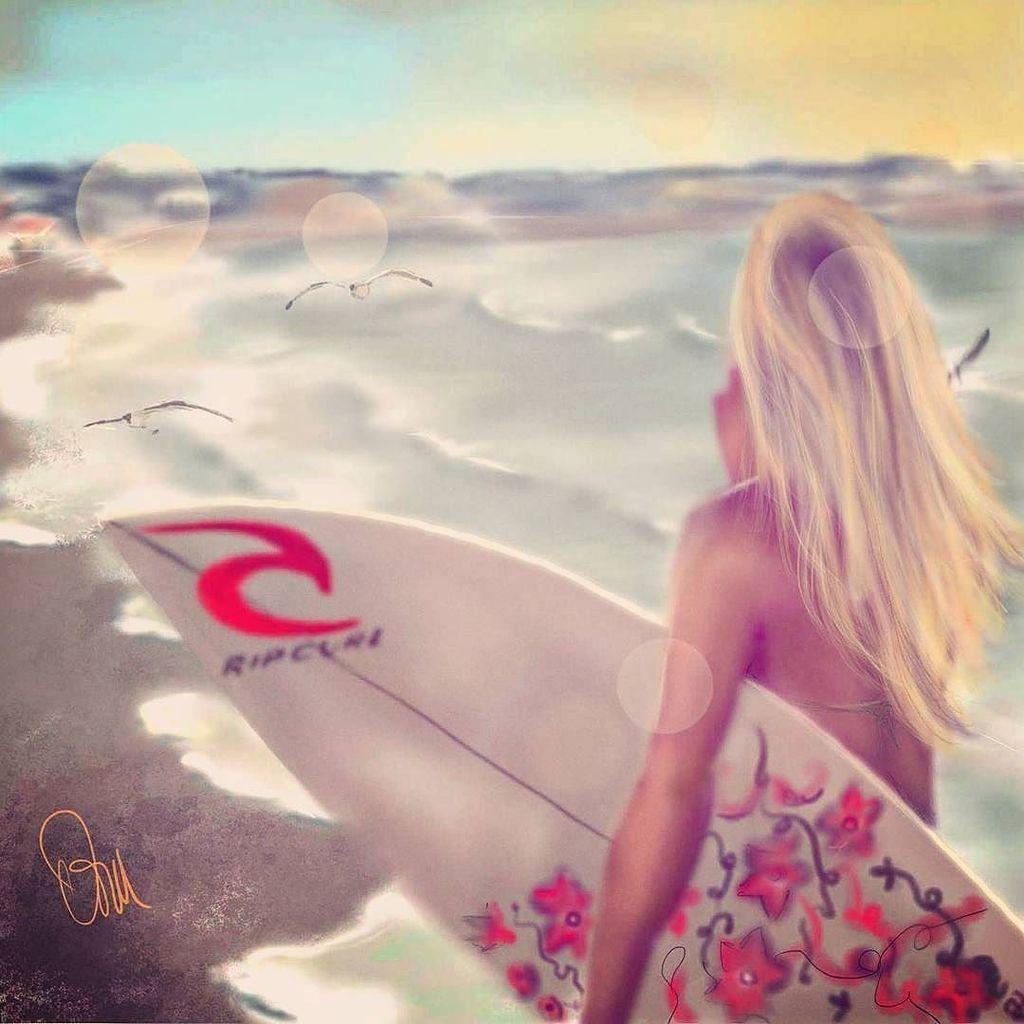 Surfer #paint #draw #art #Surf #standuppaddle #love #summer #sun #SUP #surfing #beach #goodvibes #summercollection #praia #areia #prancha #sand #ondas #pordosol #waves #relax #reef #bestoftheday #verano #playa #dailyart @ripcurl_usa @ripcurlargentina  http:// ift.tt/2iN0nyn  &nbsp;  <br>http://pic.twitter.com/sfU2MQg7kg
