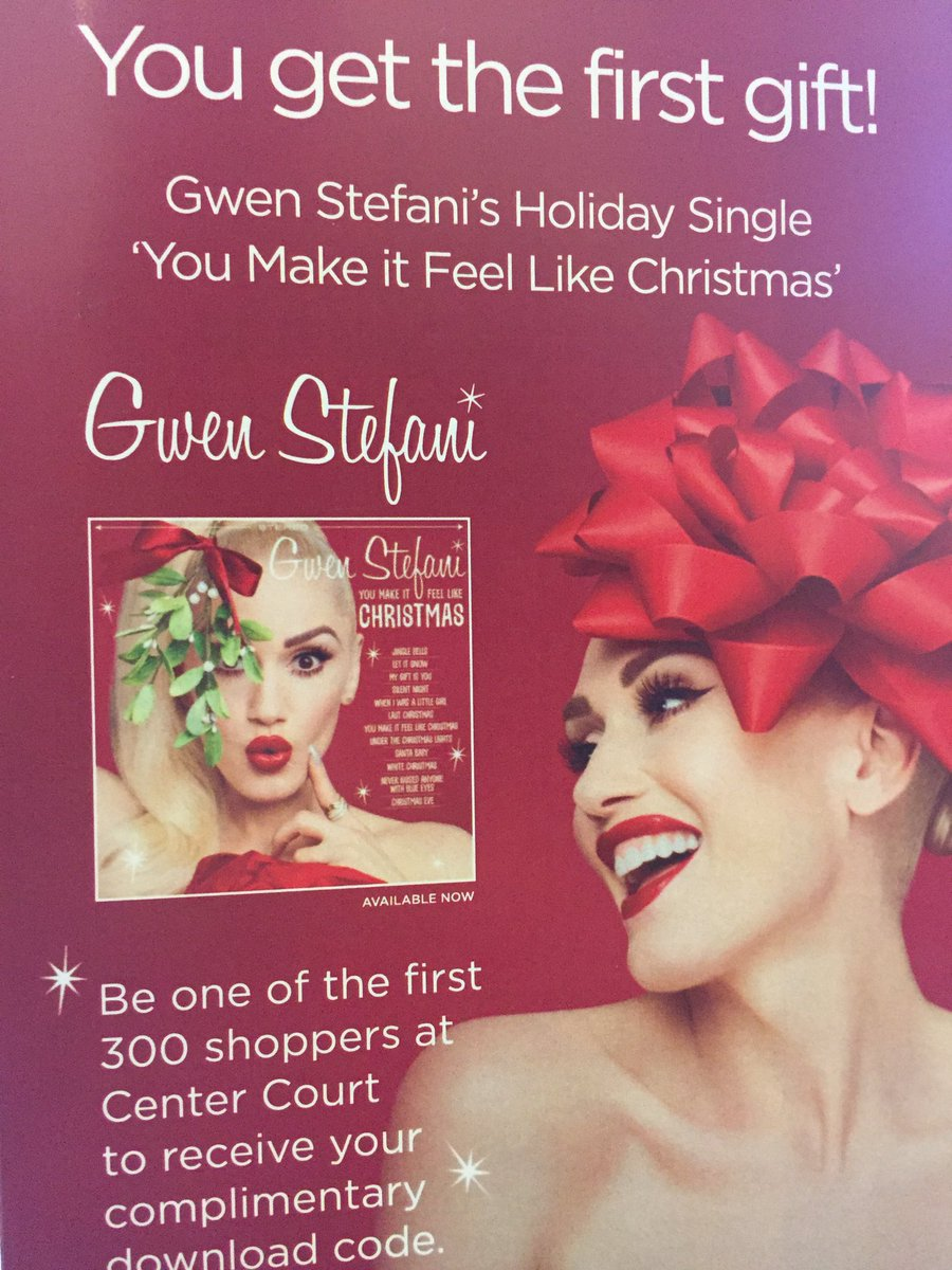 Enter to Win You Make It Feel Like Christmas' from Gwen Stefani