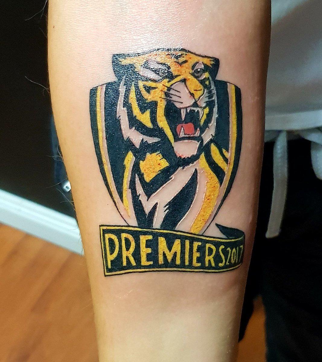 premiership tattoos page 17 tigers bigfooty afl forum. Black Bedroom Furniture Sets. Home Design Ideas
