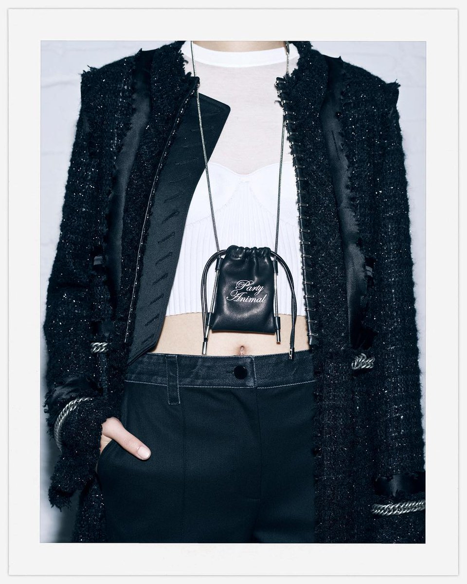 After #dinner is the #afterparty... Check out @alexanderwangny #PartyAnimal Neck Pouch and more GO #AfterHours supplies:  http:// bit.ly/2zQHggl  &nbsp;  <br>http://pic.twitter.com/1XLB5iAts8