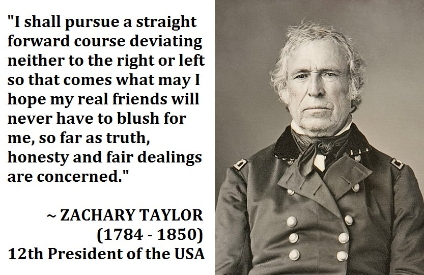 Image result for zachary taylor quotes