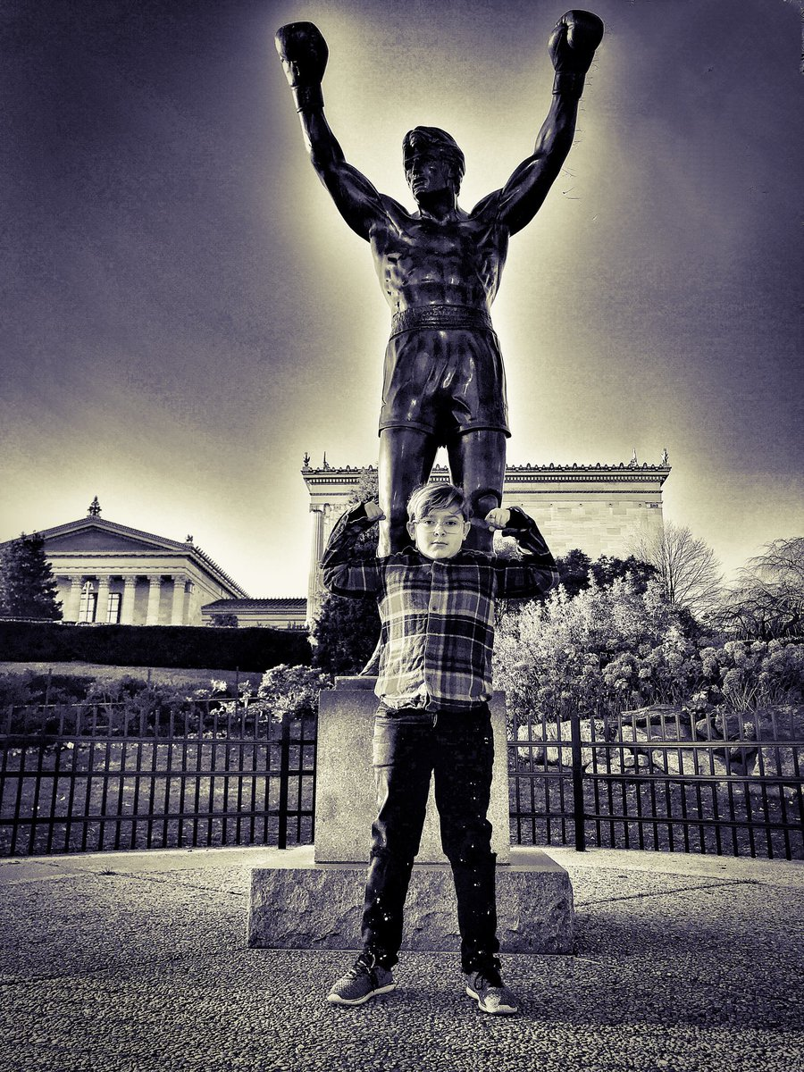 Rock of Ages. #Rocky #boxing  #rockybalboa #movie #film #cinema #philly #philadelphia <br>http://pic.twitter.com/Q8Yqztvlkw
