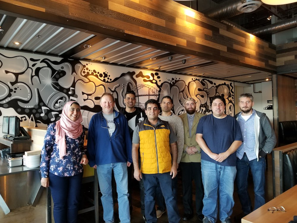 The awesome Bluzelle team reunited in Vancouver. The left most side is our latest addition to the team, Fatma, who just landed in Vancouver from Egypt two days ago. A warm welcome!  #team #founder #startup #software #developer #motivation #spirit<br>http://pic.twitter.com/km7GsofDdS