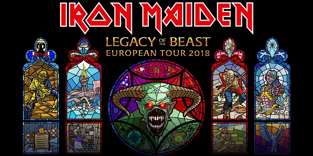 Second night added in London!  Sat 11th Aug - O2 Arena  Tickets On-sale now!  https:// goo.gl/nWbRMC  &nbsp;    #IronMaiden #LegacyOfTheBeastTour #Tickets <br>http://pic.twitter.com/X0Xfr25AEi