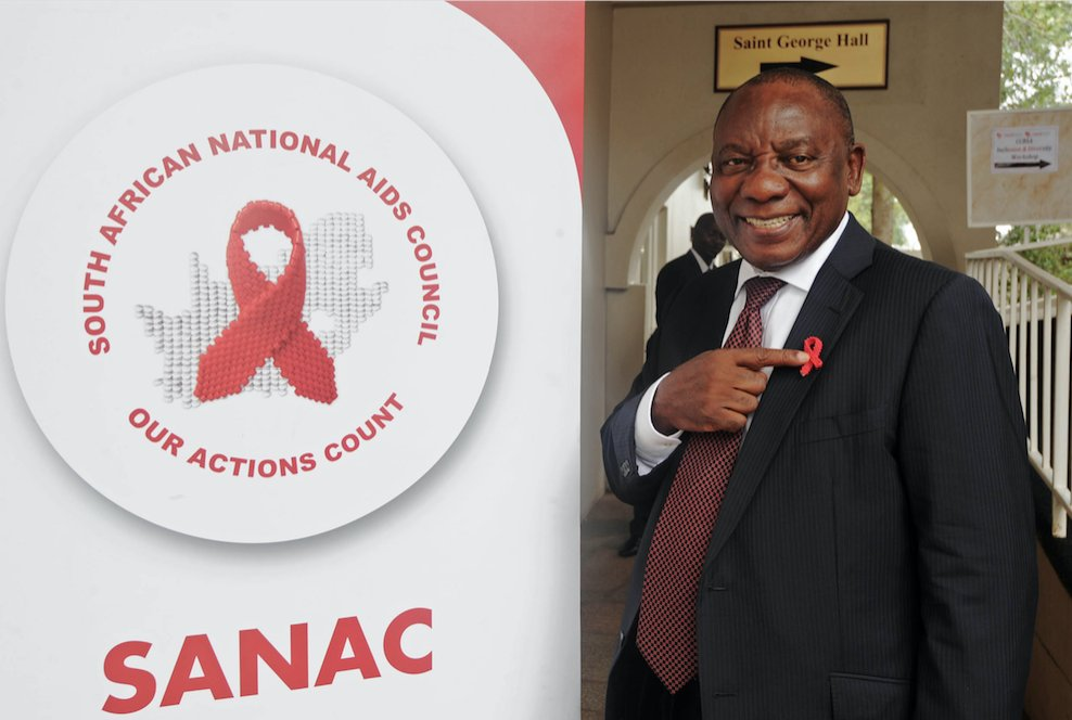 DP and Chairperson of the South African National Aids Council (SANAC) Cyril Ramaphosa attends a civil society sector engagement at the St George Hotel in Pretoria