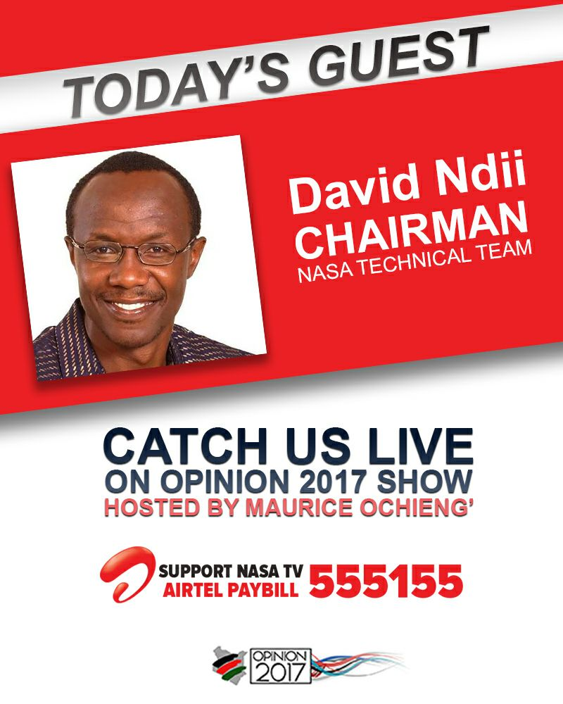 Dr. David Ndii will be discussing the state of the economy, people&#39;s assemblies and secession on today&#39;s Opinion 2017 @DavidNdii #Resist #PeoplesPetition #Opinion2017<br>http://pic.twitter.com/kSU4qkGZBL