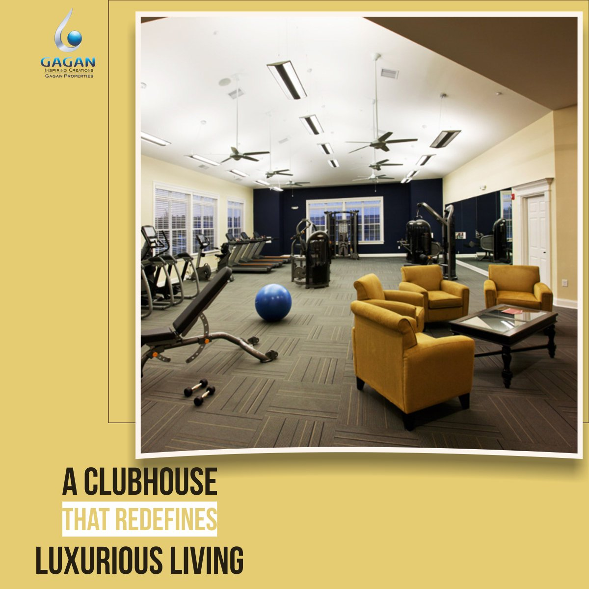 If you believe in living life to the fullest, #GaganRenaissance is the place for you! Equipped with a world class #Clubhouse , it takes recreation to a whole new level. And if you are fitness enthusiast you can surely indulge yourself in a daily workout session at their gym. <br>http://pic.twitter.com/epOkHgCrO9