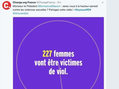 VIDEO. #SoyezAuRdv contre les violences sexuelles: L'appel de femmes au président Macron https://t.co/ynXBwzKx5E