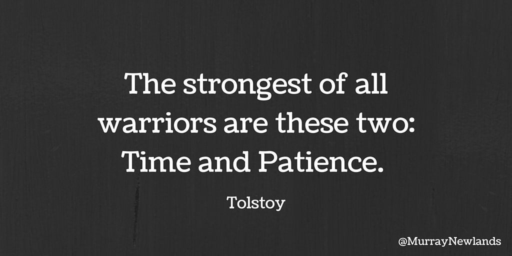 The strongest of all warriors are these two: Time and Patience.   #ThursdayThoughts #Inspiration #Motivation<br>http://pic.twitter.com/ny9QhzAYML
