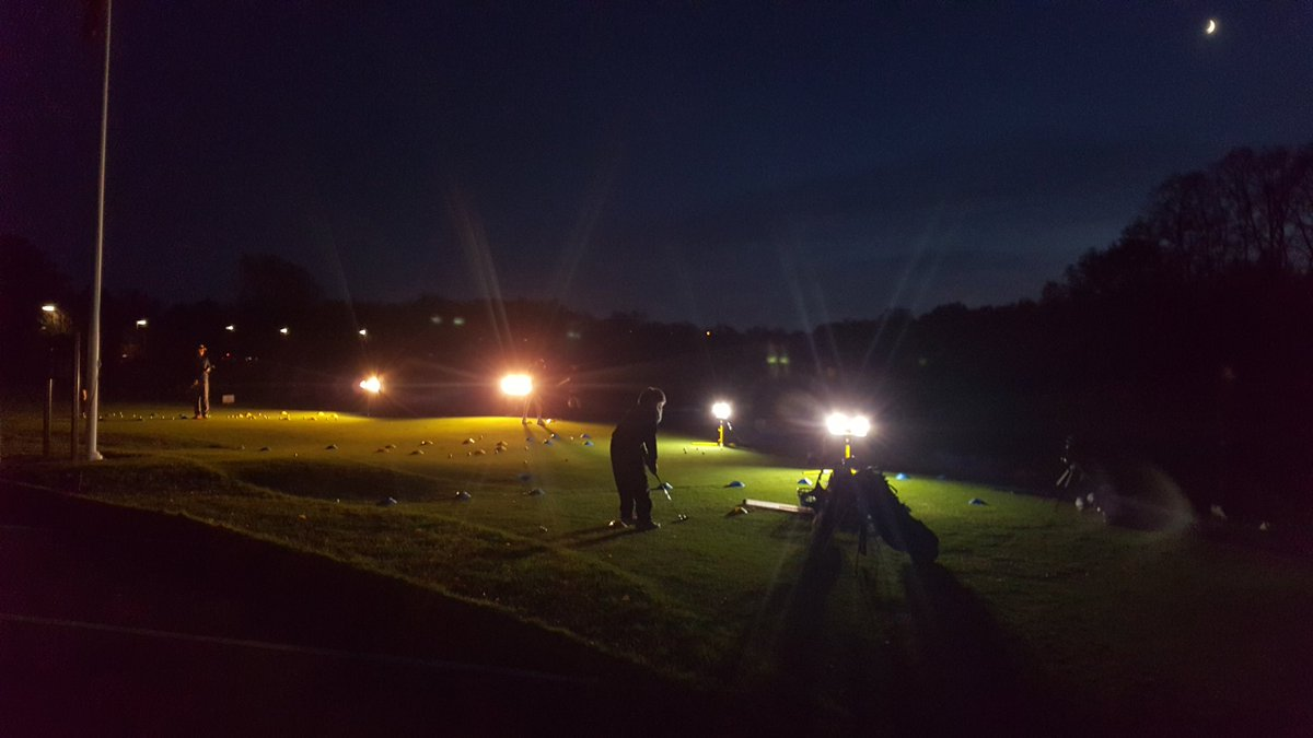 With the setting of the sun our Golf activity group continue their small group coaching session at Epsom Downs Golf Club #brightlights #golf #coaching<br>http://pic.twitter.com/6gVit03gCx