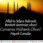 Allah'ın Selamı Rahmeti, Bereketi üzerimize olsun!...