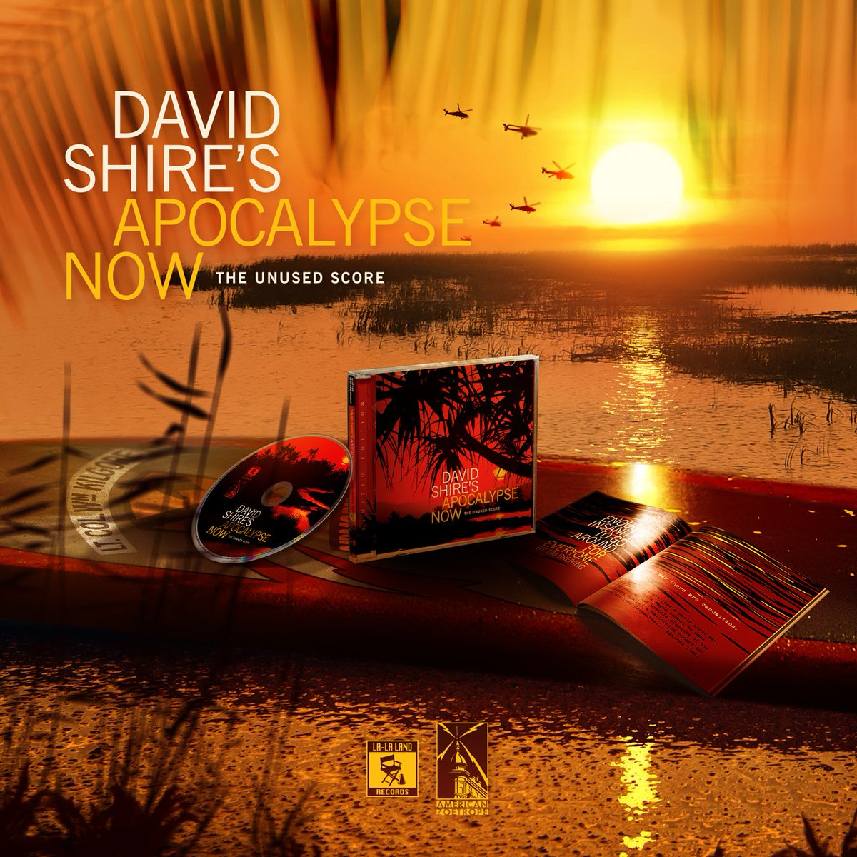 Coming 11/28 from  http:// lalalandrecords.com  &nbsp;   – limited edition CD #soundtrack of #DavidShire's #ApocalypseNow – THE UNUSED SCORE. #film #70s<br>http://pic.twitter.com/AvTSNlrjkn