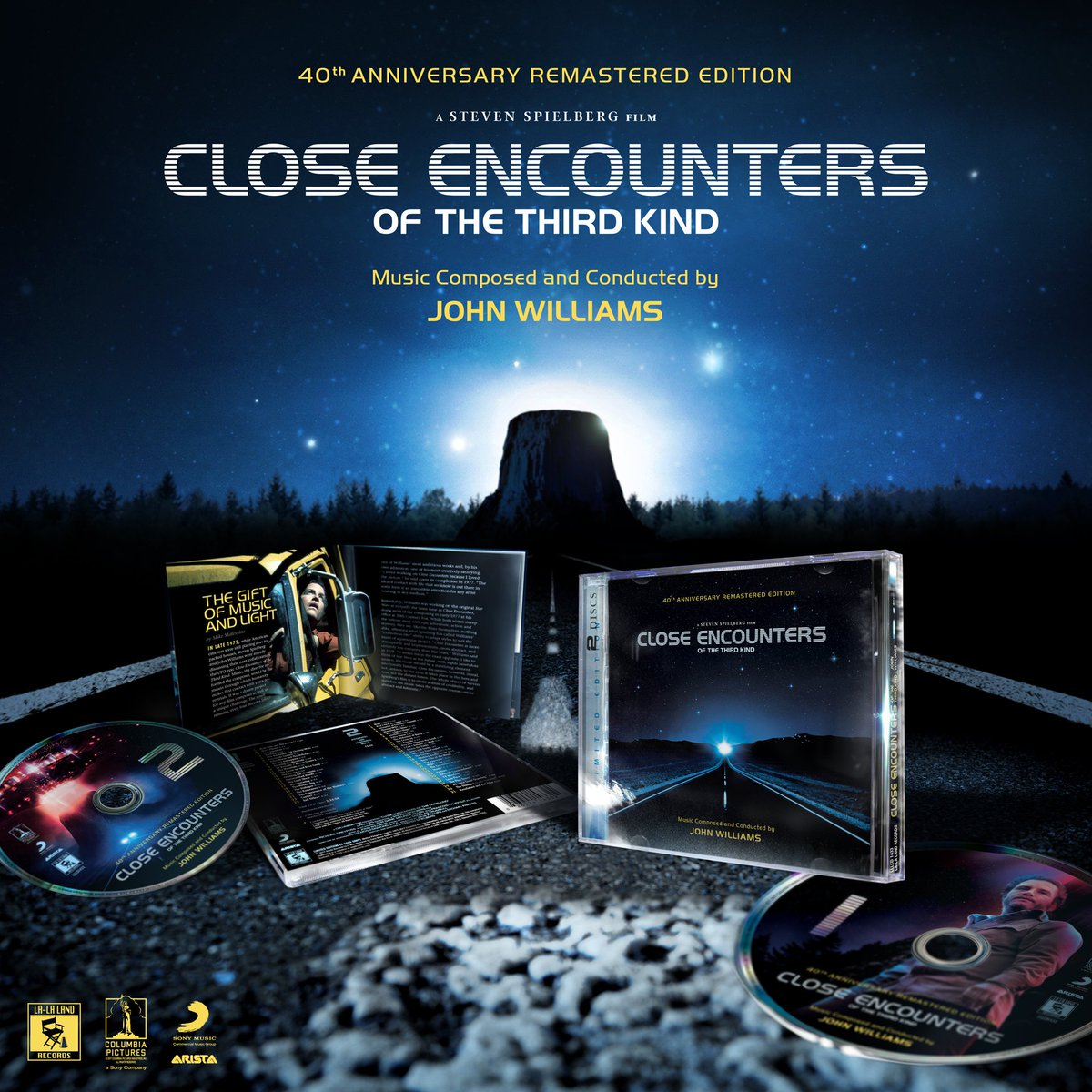 Coming 11/28 from  http:// lalalandrecords.com  &nbsp;   – limited edition 40th Anniversary Remastered 2-CD #soundtrack #CloseEncounters of the Third Kind by #JohnWilliams #StevenSpielberg #film <br>http://pic.twitter.com/GKmU9YCWV4