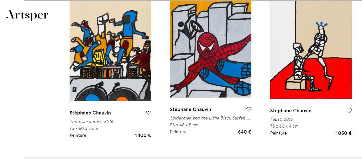 Hello my paintings available now on artsper  https://www. artsper.com/fr/artistes-co ntemporains/france/16387/stephane-chauvin &nbsp; …  @Artsper   #artnews #art #spdc #artcontemporain #blackpoolRocks #paintings #ATSocialMedia #contemporaryart  #day2daygallery #stephanechauvin #peintures  #curator #newcontemporary #contemporaryart<br>http://pic.twitter.com/XYrJsybT19