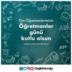 RT @saglikbakanligi: Tüm öğretmenlerimizin #24Kası...