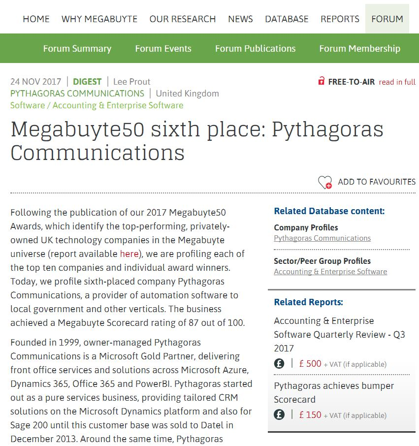 pythagoras on twitter check out our profile by realmegabuyte to  pythagoras on twitter check out our profile by realmegabuyte to out why pythagoras has been d 6th in the 2017 megabuyte50 rankings