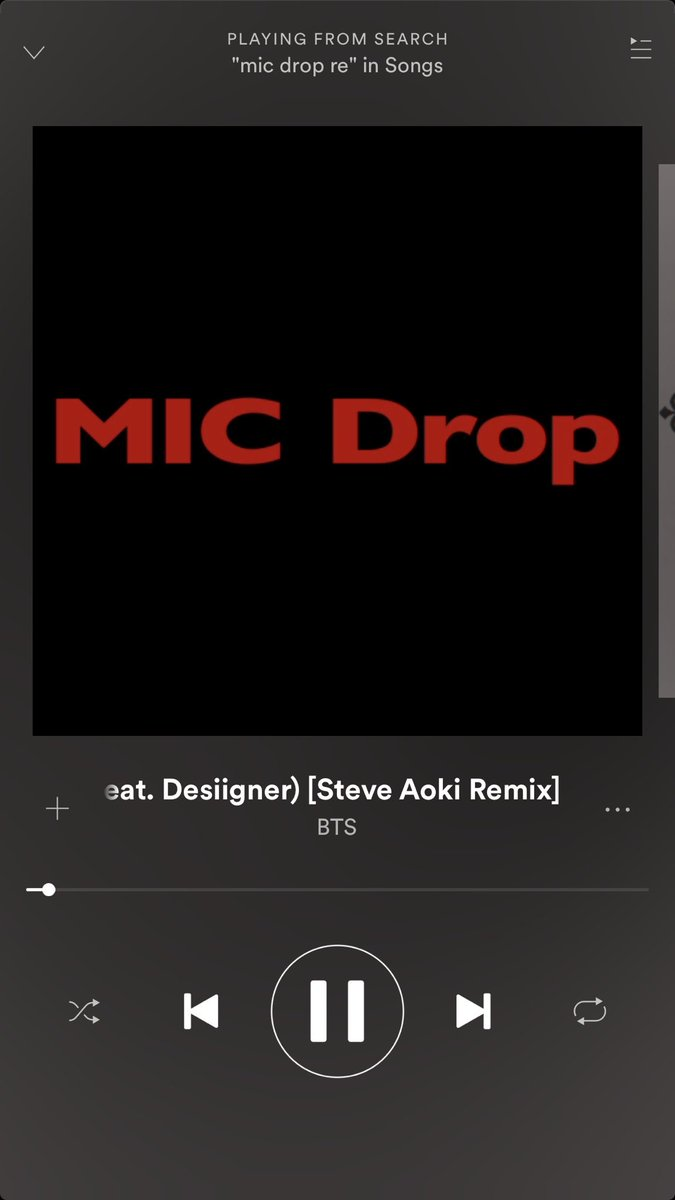 #BTSArmy Surprise!!!! 2 Versions of @BTS_twt #MicDropRemix  be sure to check out #Spotify AND #YouTube to hear both versions!! <br>http://pic.twitter.com/JYfW1INAuf