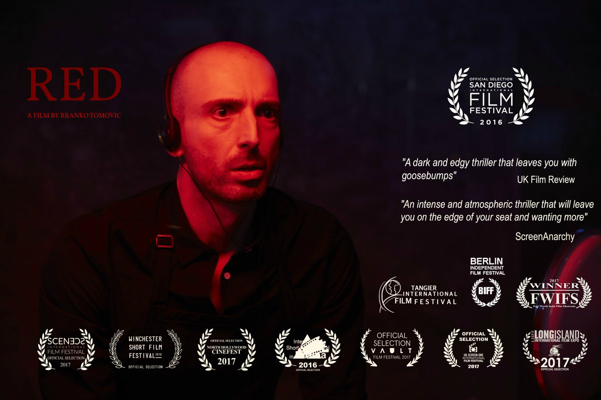 Our film will be directed by Branko Tomovic  http://www. imdb.com/name/nm1036127/  &nbsp;   whose directing debut Red won 7 awards &amp; 30 nominations at international film festivals, including Bafta and European Film Award qualifying festivals.   #supportindiefilm #shortfilm #filmmaking #awards #film <br>http://pic.twitter.com/eVWr06GVBd