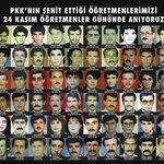 RT @OzelHarekatTV: Unutmuyoruz ! #24KasımÖğretmenl...
