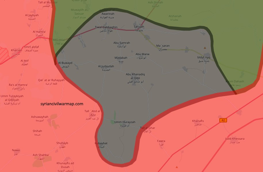 Syrian Civil War Map on Twitter: \