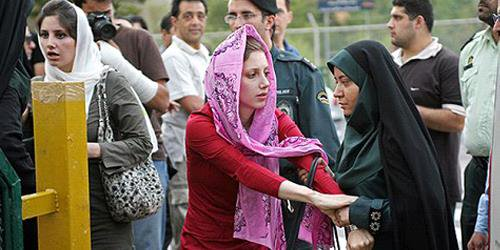 #women are under the most brutal suppression in #Iran,I&#39;m surprised that you&#39;re so eager 2go there! Is this mission on behalf of @Europarl_EN?Or is your delegation working on trade agreements W/ Iran? I can not understand the logic behind such devotion, particularly from a woman.<br>http://pic.twitter.com/kSaJr4lfyV