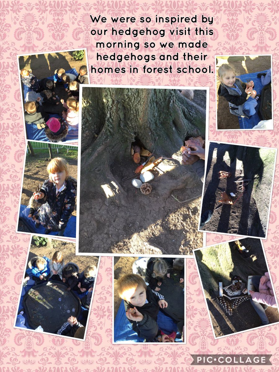 What a fantastic afternoon for the acorns, they were very inspired by their morning visitors. #EYFS #outdoorlearning #forestschool <br>http://pic.twitter.com/Ynsz3hm8nz